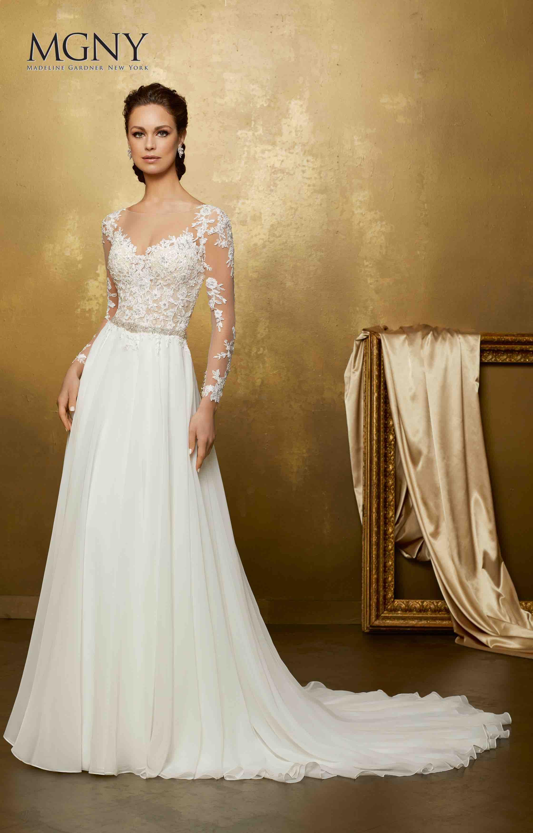 New York Madeline Gardner Wedding Dress
